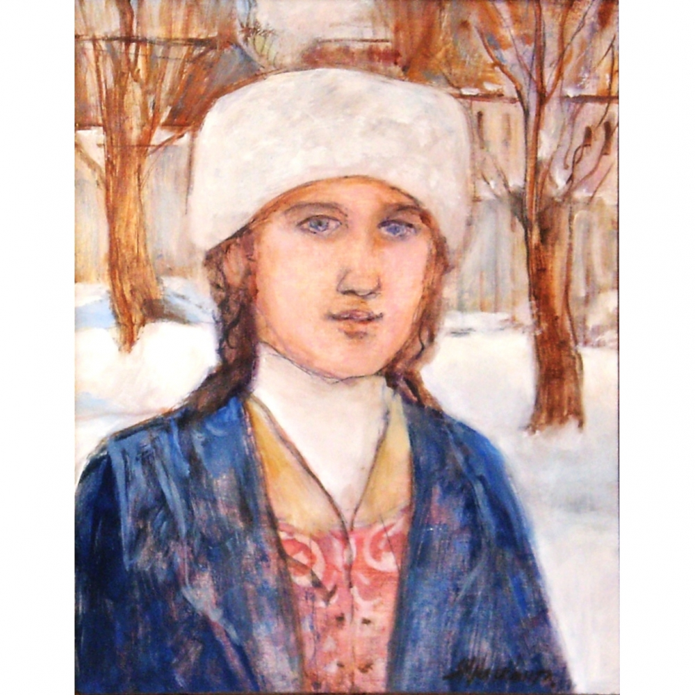 Portrait in the Snow by Susan McLean Woodburn