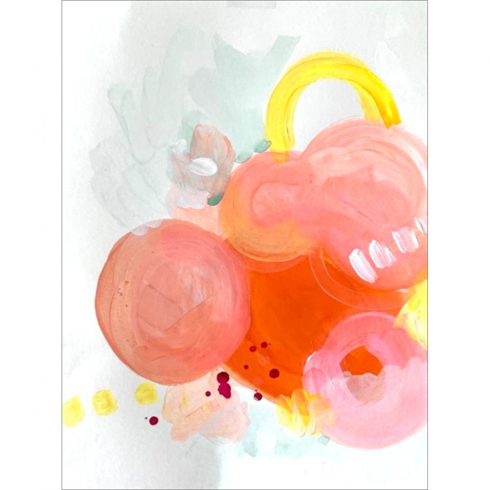 Lyric 08 by Frances  Hahn
