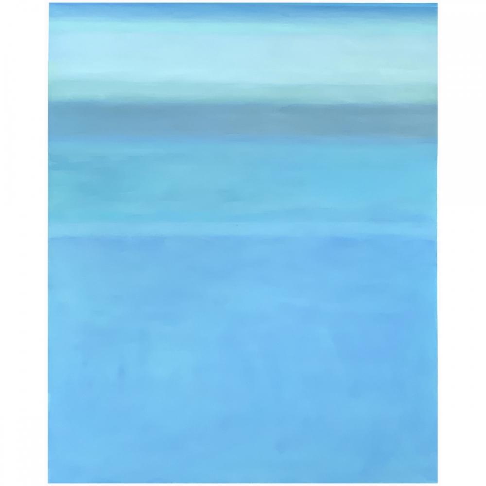 April Blue by Richard Herman