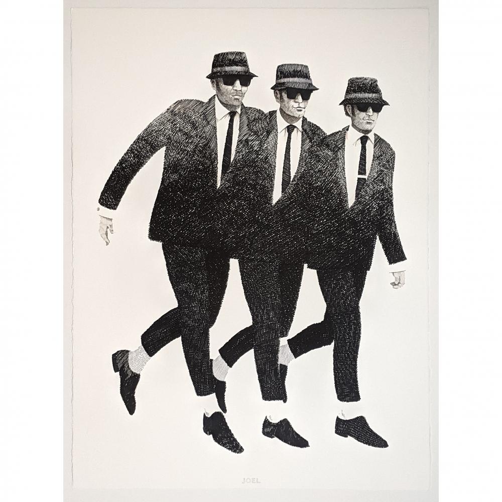 Blues Brothers Three by J. Joel