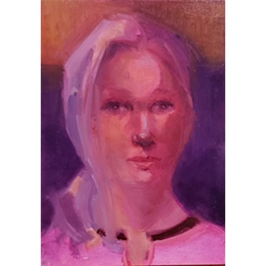 Pink Cardigan by Win  Keenan-Kuplowsky