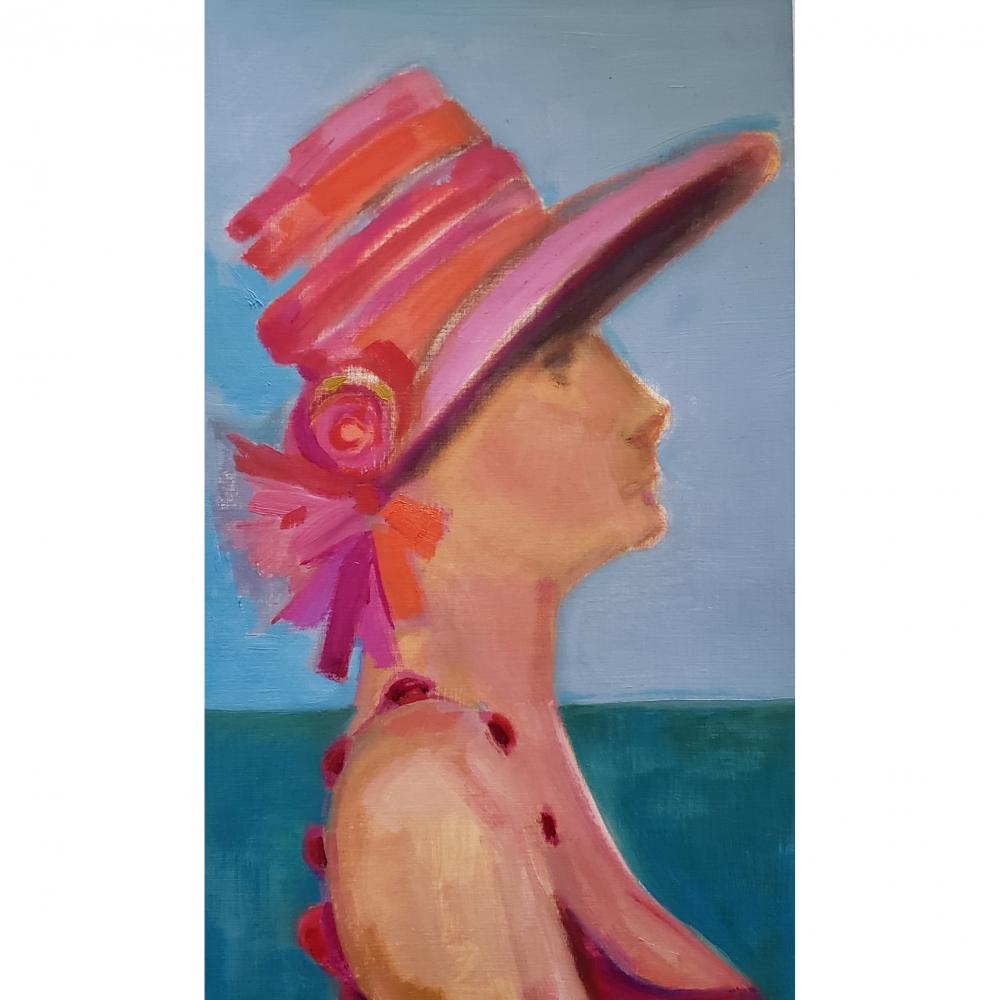 Sun Hat 2 by Win  Keenan-Kuplowsky