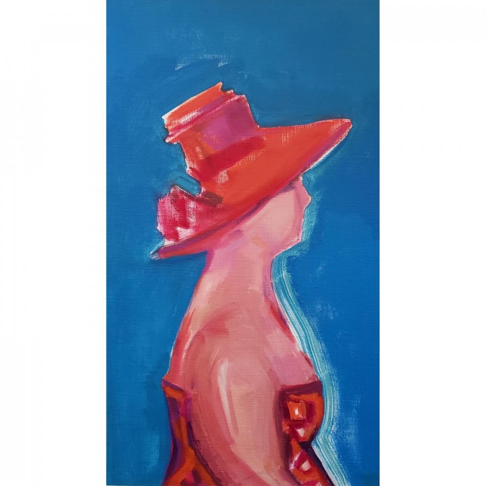 Sun Hat 1 by Win  Keenan-Kuplowsky