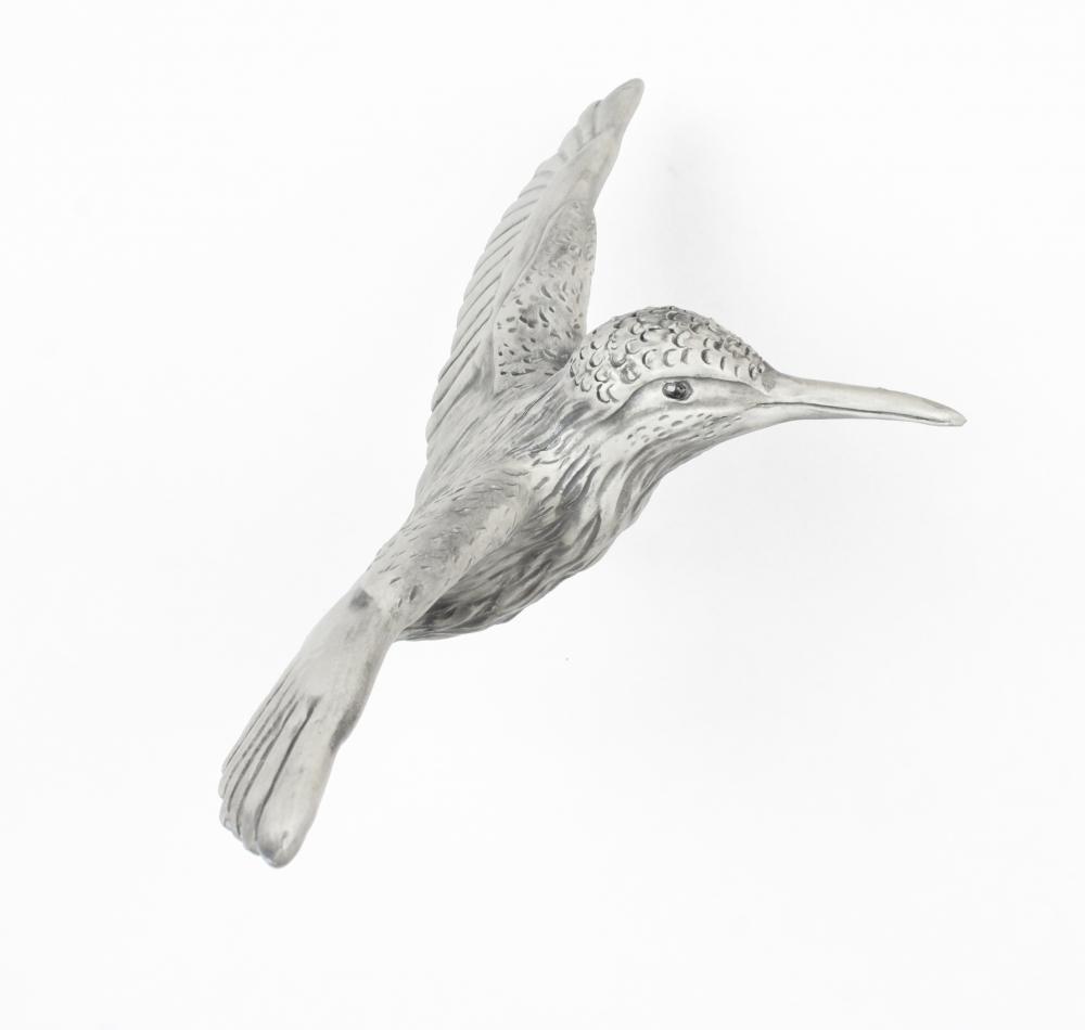 Catharsis No.37 (Kingfisher) by Sandra  Tarantino