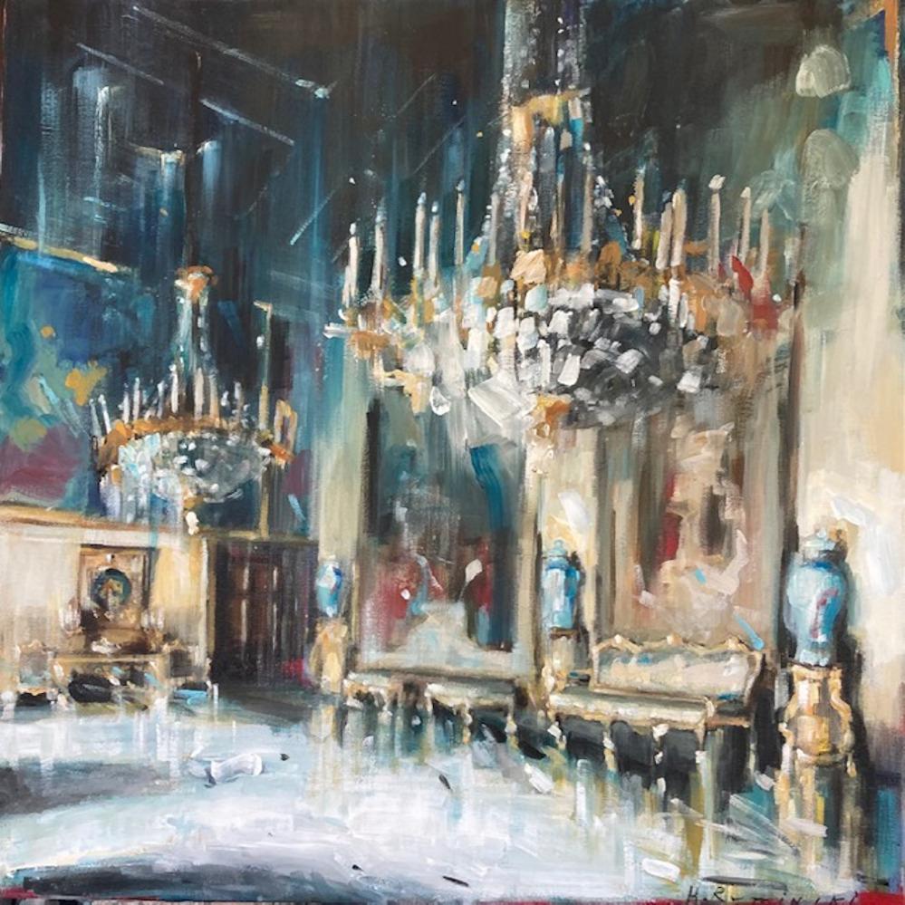 The Ambassador Hall by Hanna Ruminski